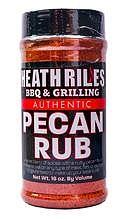 Heath Riles BBQ krydda med pecan