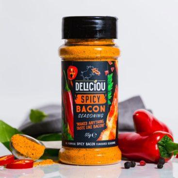 Deliciou Spicy Bacon
