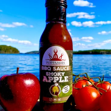 Smoky apple BBQ sauce - Poppamies