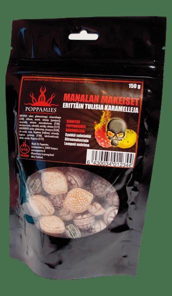 MANALA SWEET CHILI CARAMELS-POPPAMIES