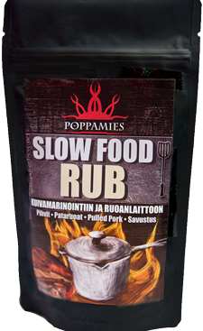 SLOW FOOD RUB - POPPAMIES