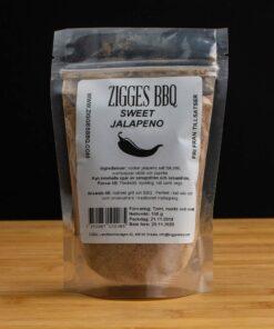 Sweet Jalapeno påse 150g - Zigges BBQ